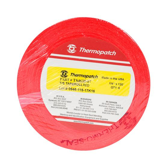 Thermopatch Marking Tape Red 6 Roll