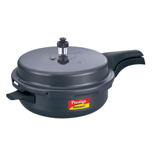 Prestige Deluxe Plus Hard Anodized Senior Pressure Pan with Lid  5.4 Litre