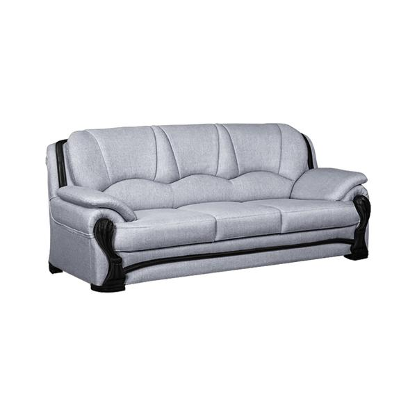 Bharat Lifestyle China Gate Fabric 3 Seater Sofa (Color - Light Grey)