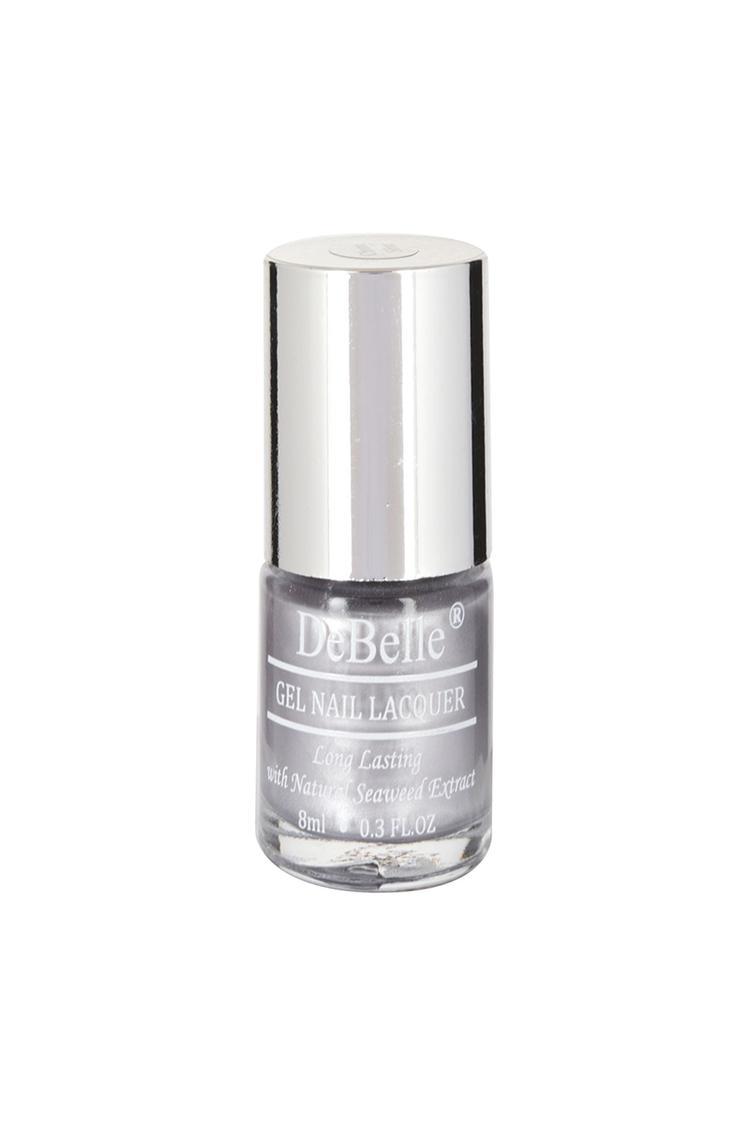 Debelle Metallic Silver Nail Polish Chrome Silver