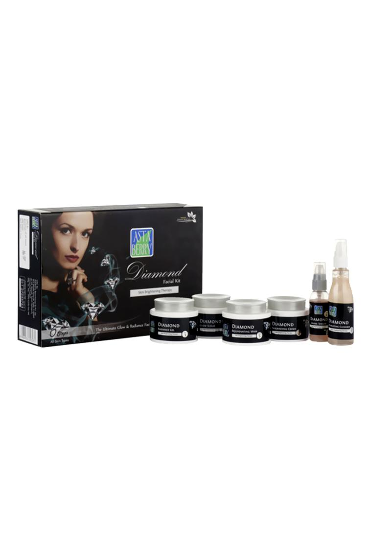 Astaberry Diamond Facial Kit 6 Steps For All Skin Type