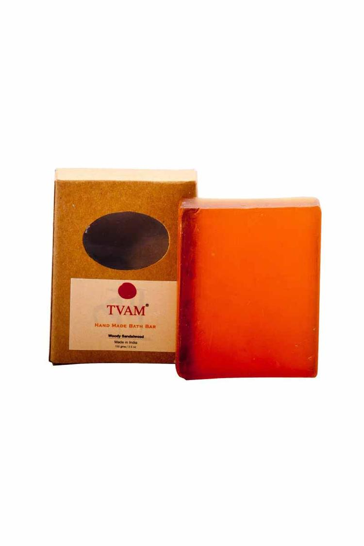 Tvam Soap Woody Sandalwood Handmade 100Gm