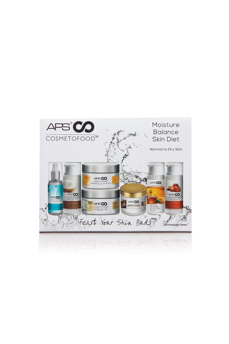 Cosmetofood Moisture Balance Skin Diet Facial Kit Pack Of 10, 330ml