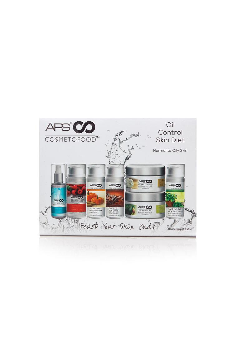 Cosmetofood Oil Control Skin Diet Facial Kit  Pack Of 10, 330ml