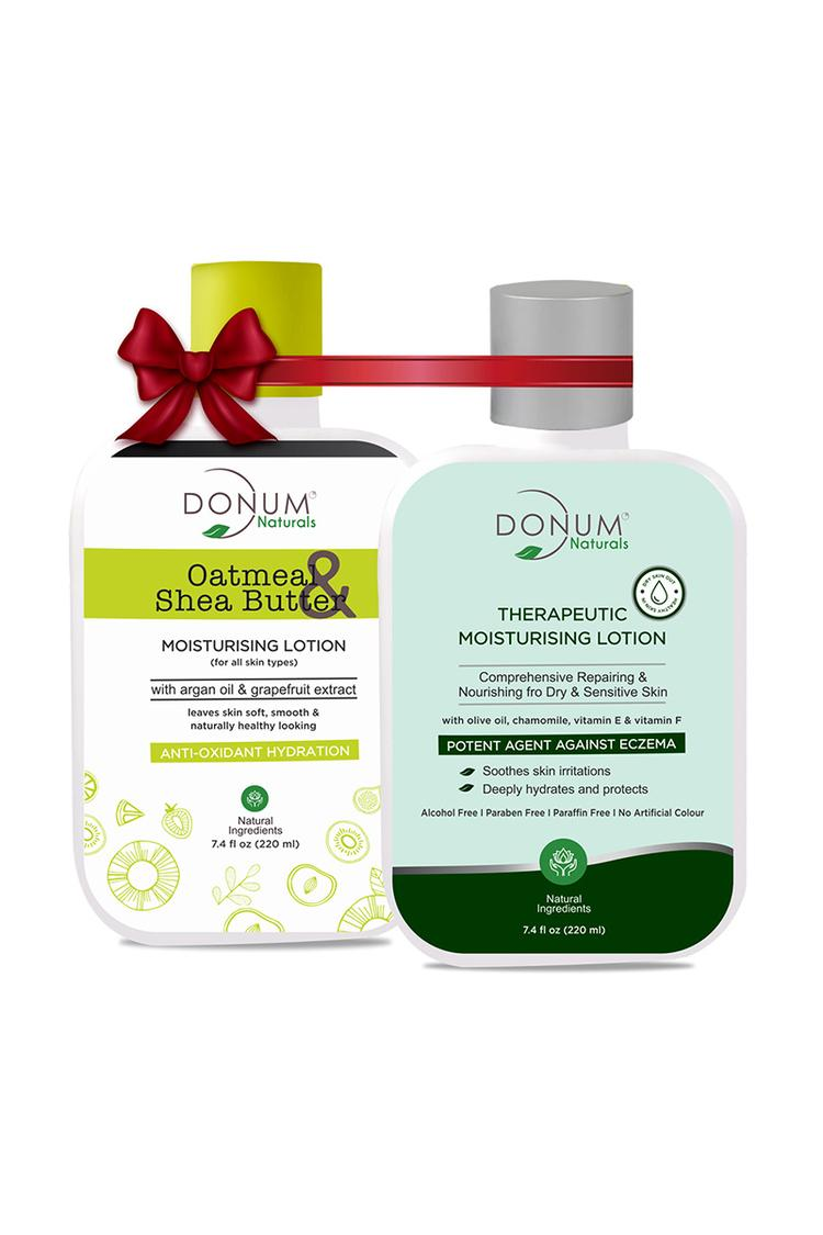 Donum Oatmeal Shea Butter Lotion & therapeutic Lot