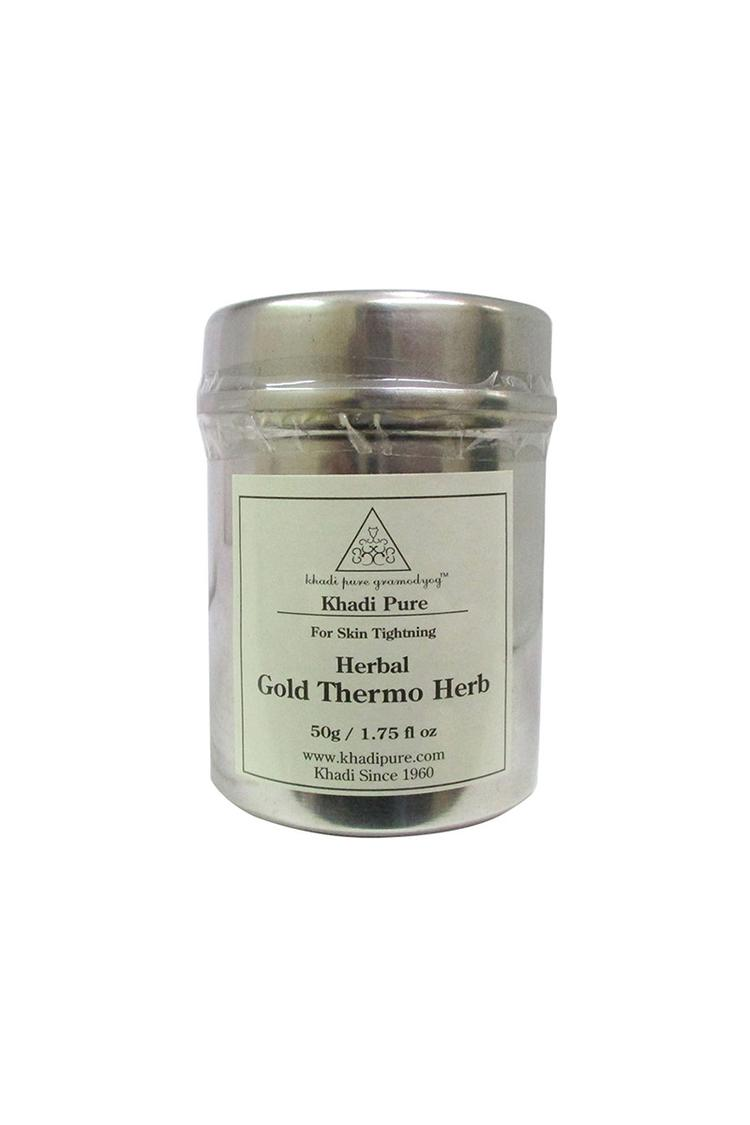Khadi Pure Herbal Gold Thermo Herb 50Gm