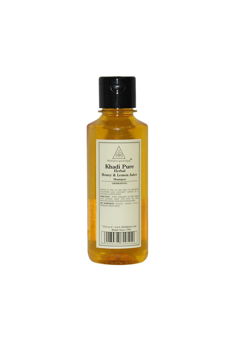 Khadi Pure Herbal Honey And Lemon Juice Shampoo 21