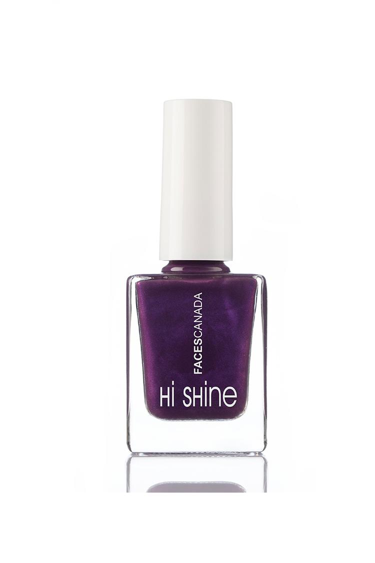 Faces Canada Hi Shine Nail Enamel Royal Purple 195 9 ml