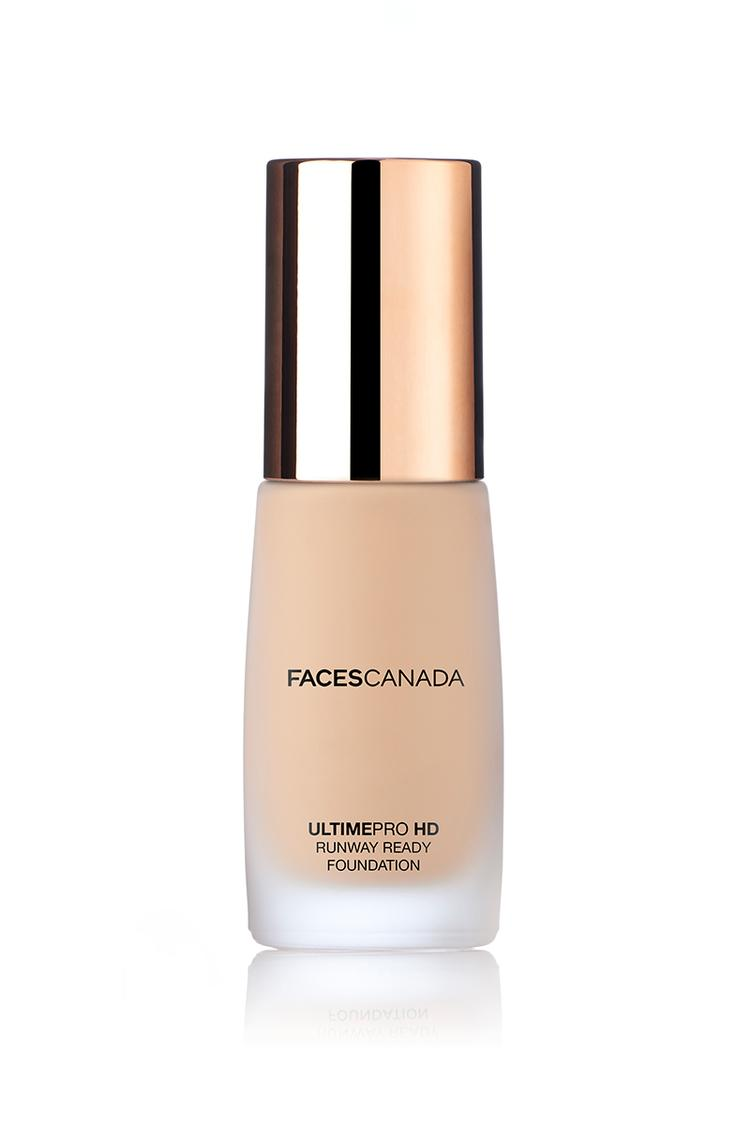 Faces Canada Ultime Pro HD Runway ready foundation Ivory 01