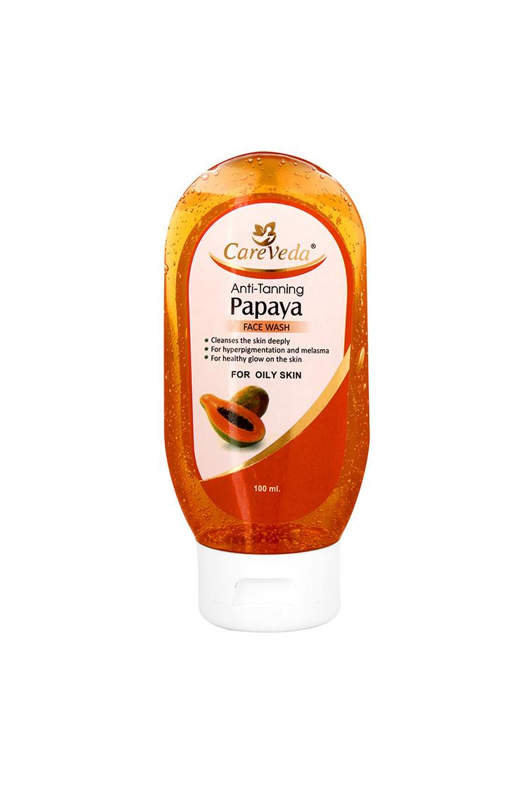 Careveda Anti Tanning Papaya Facewash