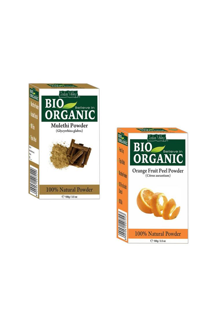 Indus Valley Bio Organic Herbal Mulethi & Orange P