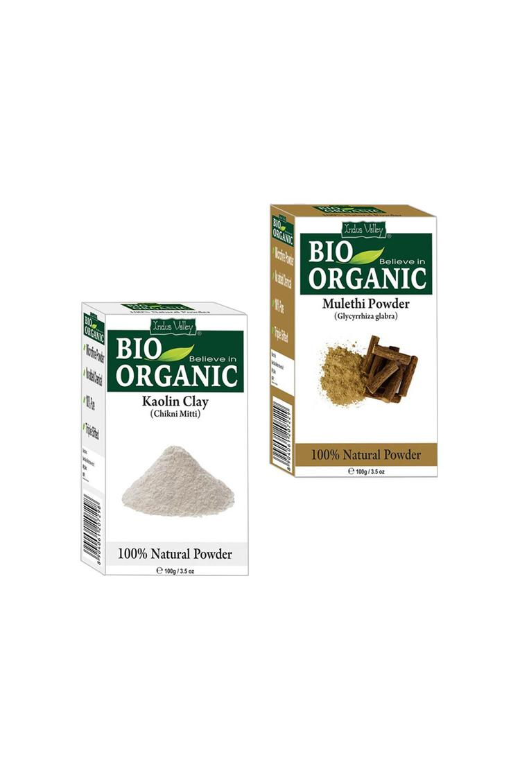 Indus Valley Bio Organic Herbal Kaolinclay And Mul