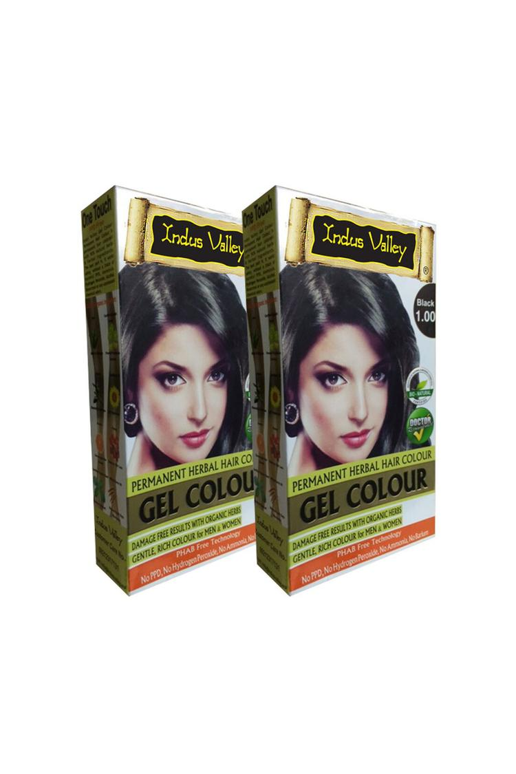 Indus Valley Bio Organicgel Black One Touch Pack S
