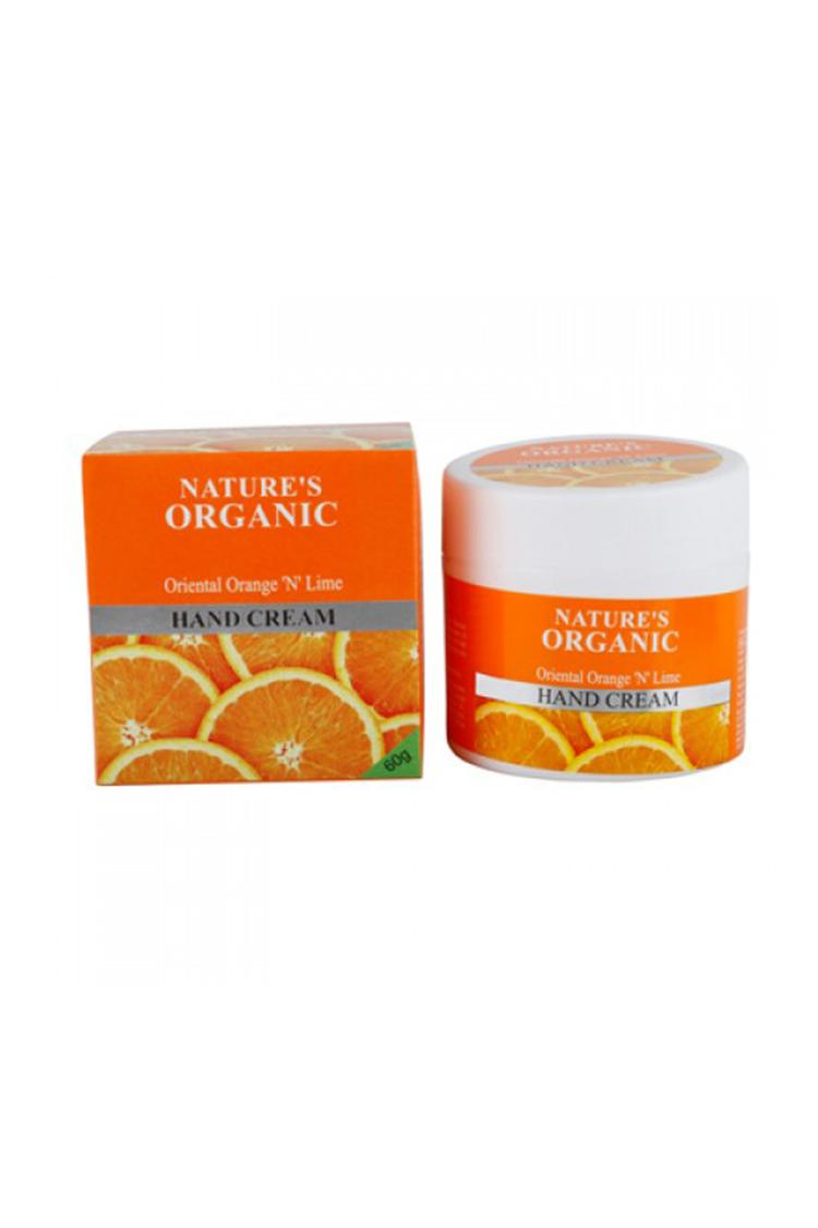 Nature's Organic Oriental Orange N Lime Hand Cream