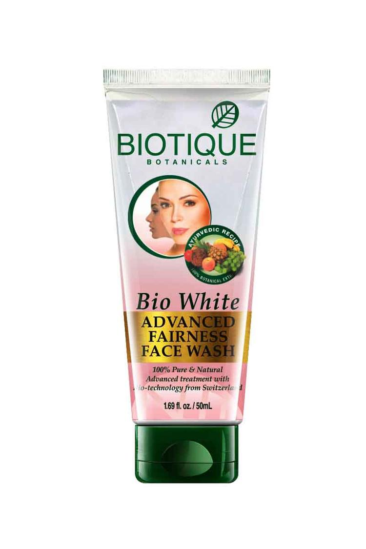 Biotique White Whiting And Brightining Face Wash 5