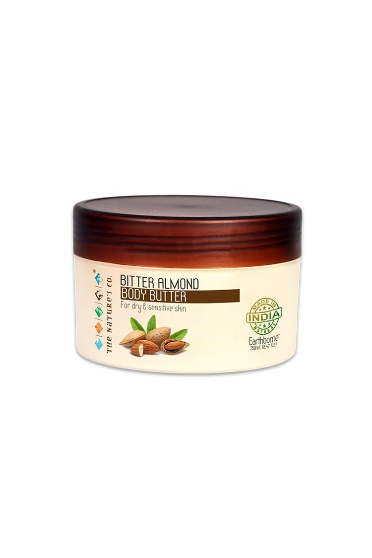 The Natures Co Bitter Almond Body Butter 250 Ml