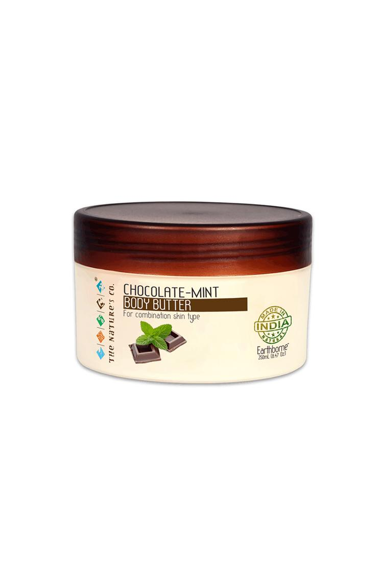 The Natures Co Chocolate-Mint Body Butter 250 Ml