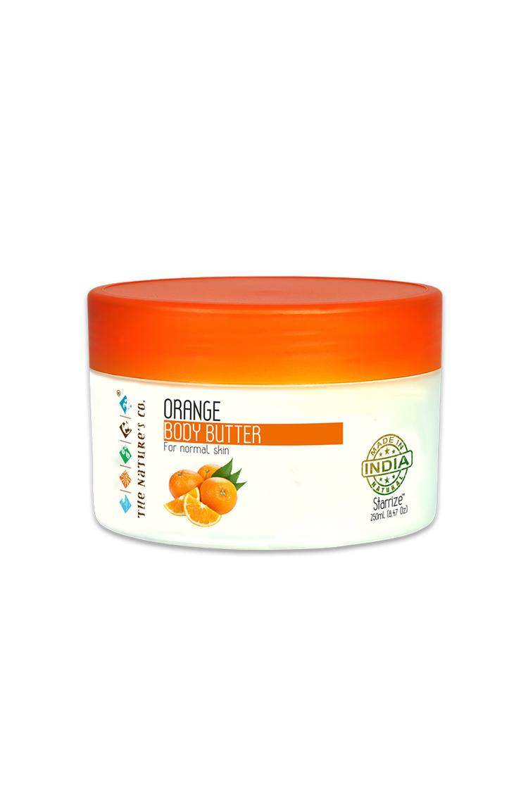 The Natures Co Orange Body Butter 250 Ml