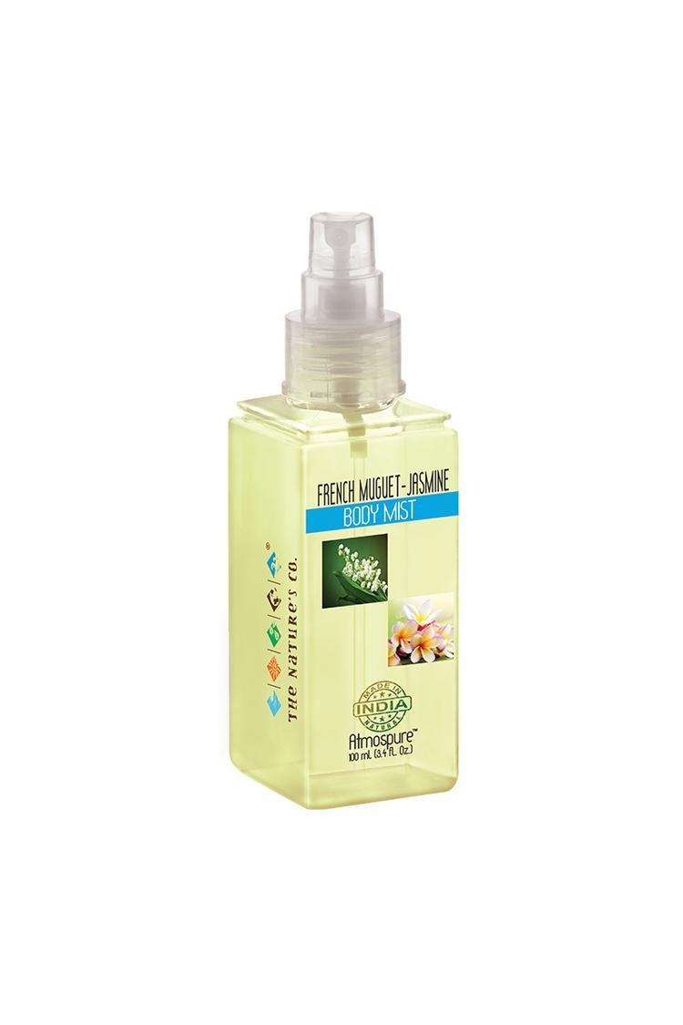 The Natures Co French -Muguet Jasmine Body Mist 10