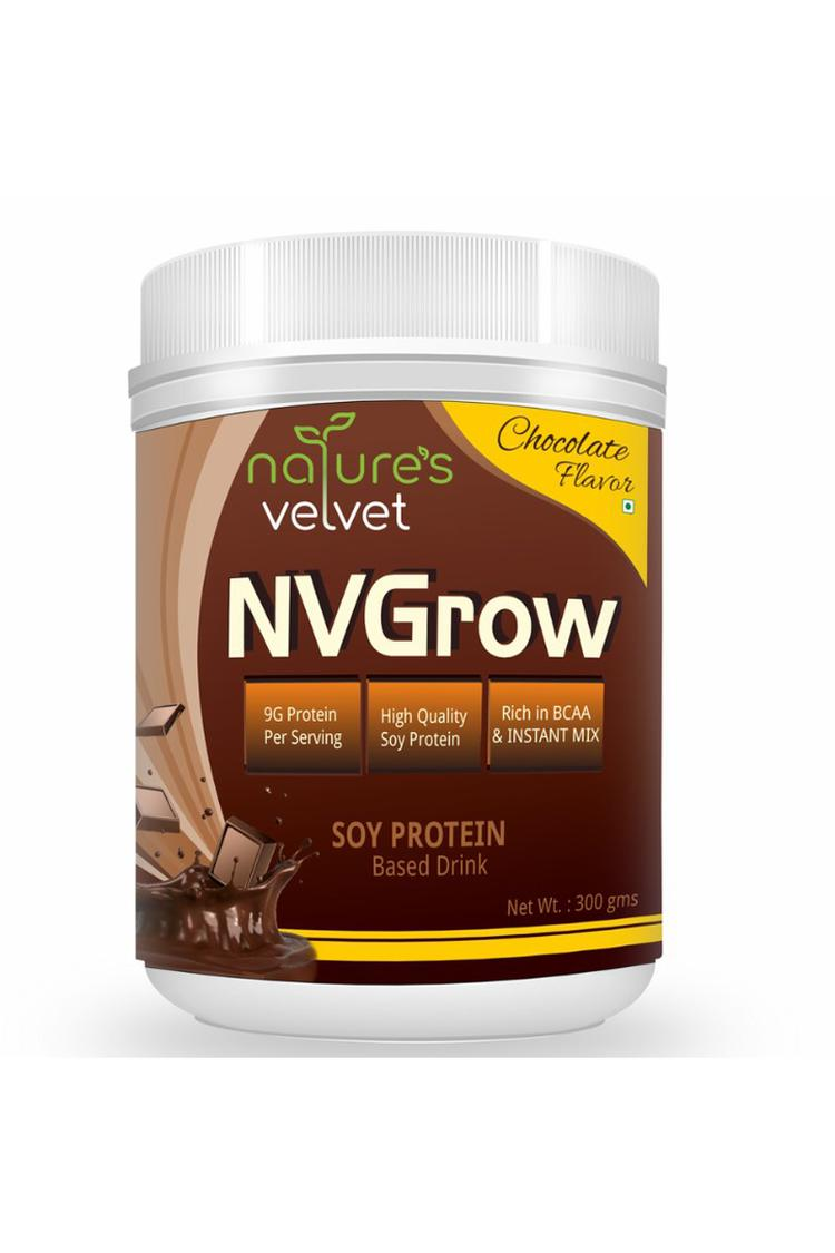 Natures Velvet Nvgrow Soy Based Drink 300 Gm