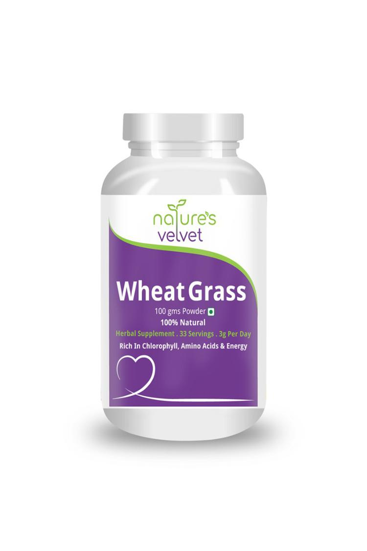 Natures Velvet Wheat Grass Powder 100 Gm