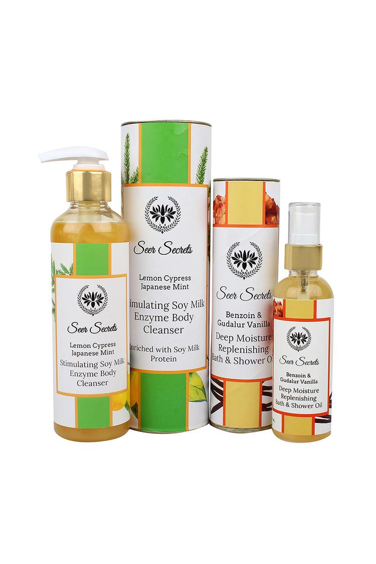 Seer Secrets 14 Gift Set  Bathing Shower Oil & Body Cleanser 200Ml