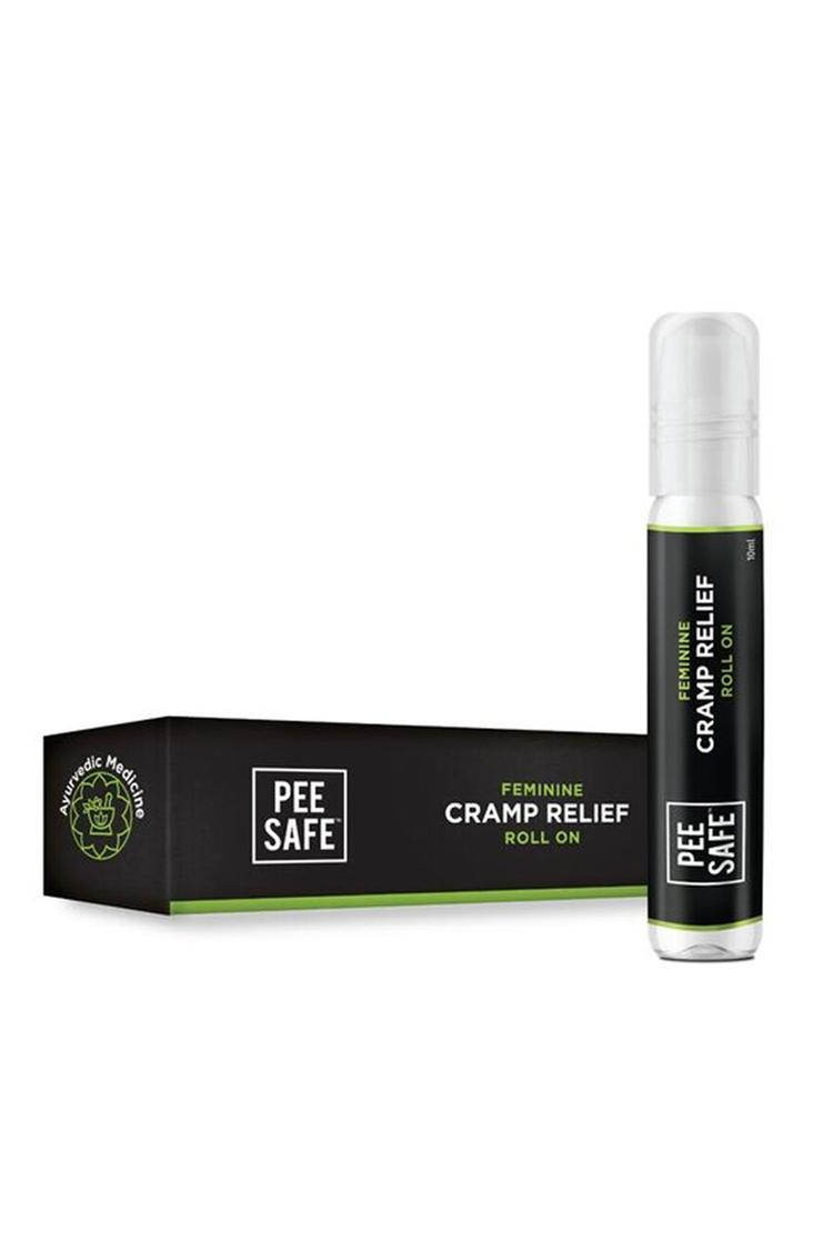 Pee Safe Feminine Cramp Relief Roll On For Period Pain 10 Ml