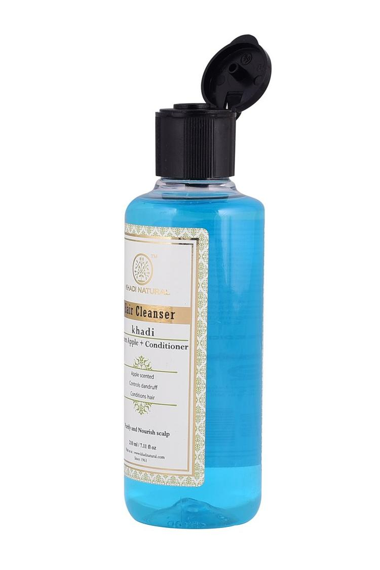 Khadi Natural Ayurvedic Green Apple + Conditioner Hair Cleanser