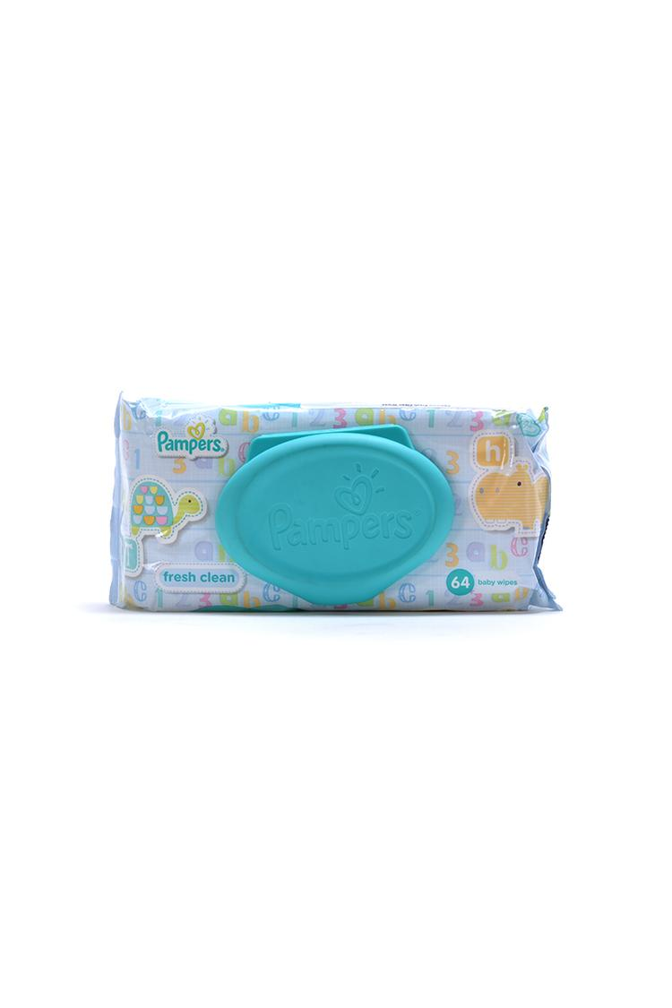 Pampers Fresh Clean Baby Wipes 64 Count