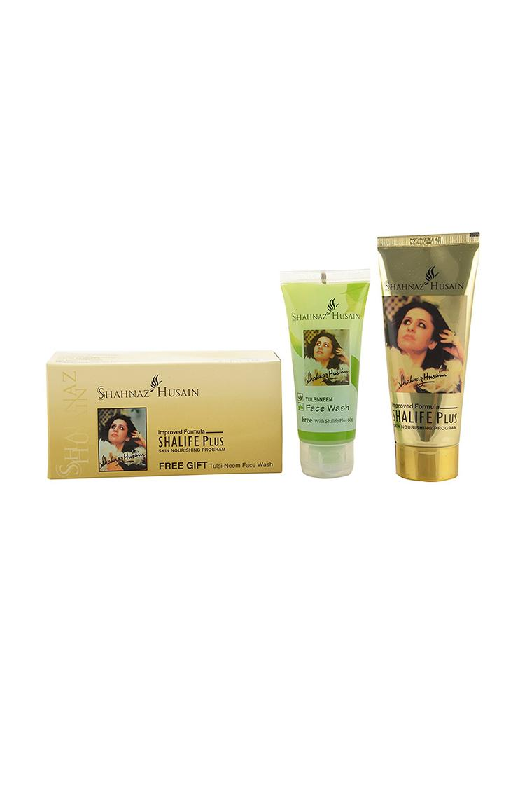 Shahnaz Husain Shalife Plus And Tulsi Face Wash 6