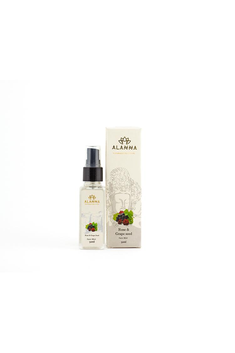 Alanna Rose And Grape Seed Face Mist 50Ml