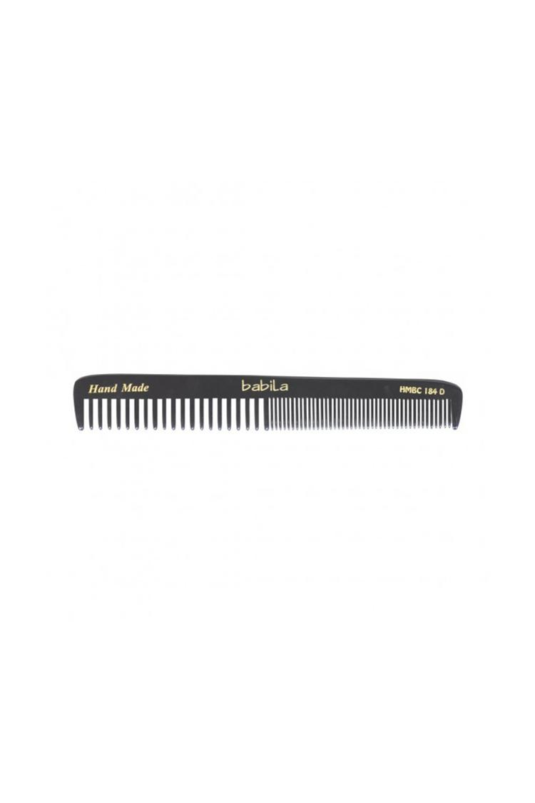 Babila Black Handmade Comb Daily Use Grooming