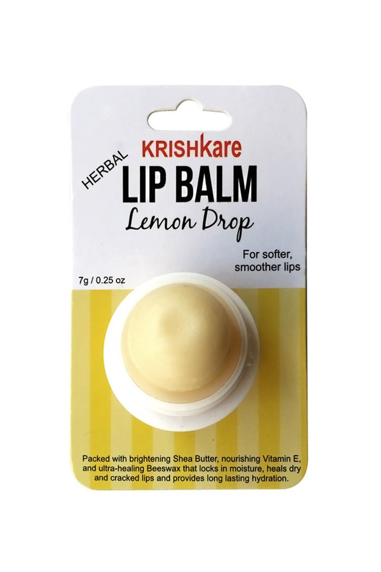 Krishkare Lip Balm Lemon Drop 7 Gm