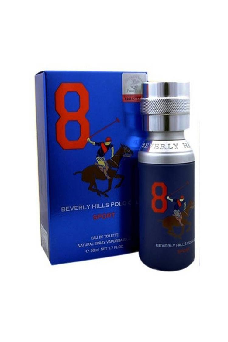 Beverly Hills Polo Club Eau De Toilette Blueno 8 F