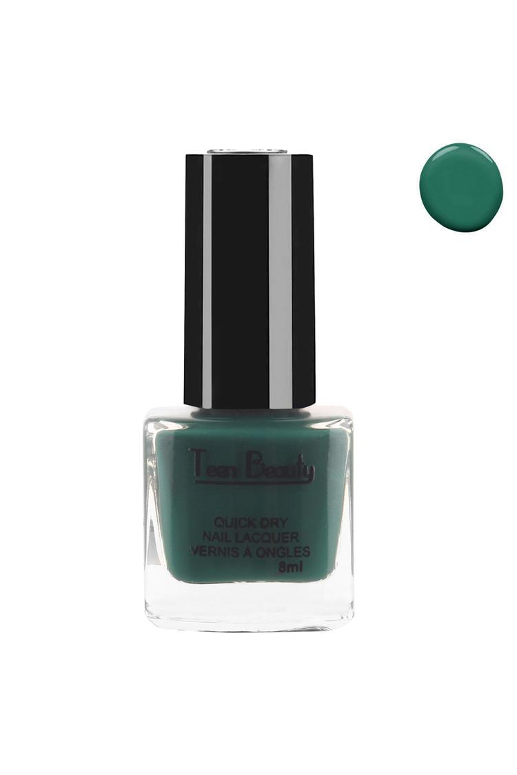 Teen Beauty Lovely Green Nail Polish 8 Ml Shade 62