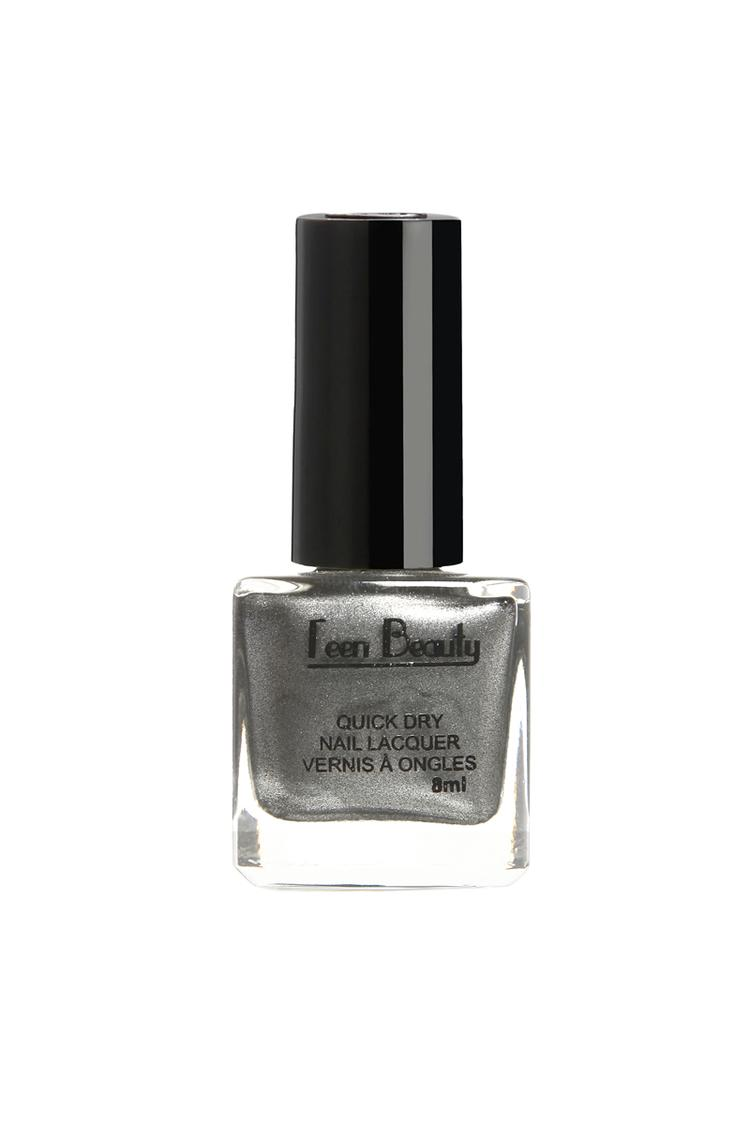 Teen Beauty Gunmetal Grey Nail Polish 8 Ml Shade 111
