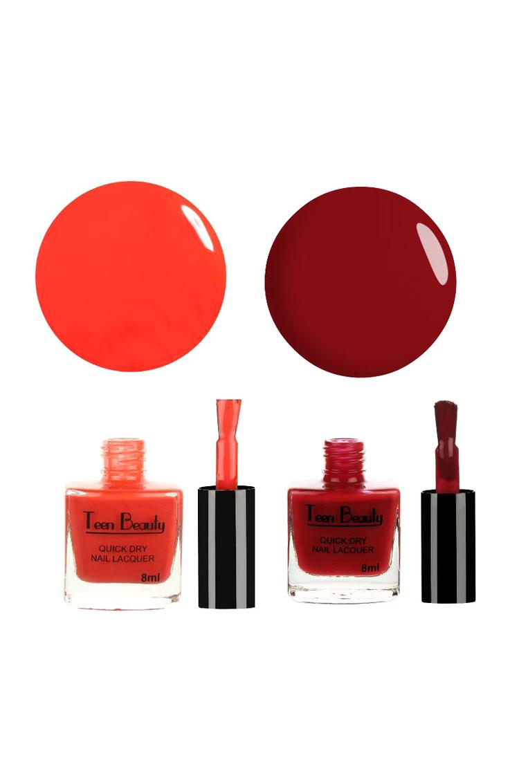 Teen Beauty Pack of 2 Nail Polish Combo TBDuet 212