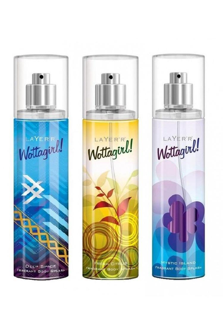 Layer'R Wottagirl Deep Space Fresh Citrus Mystic Island Pack of 3