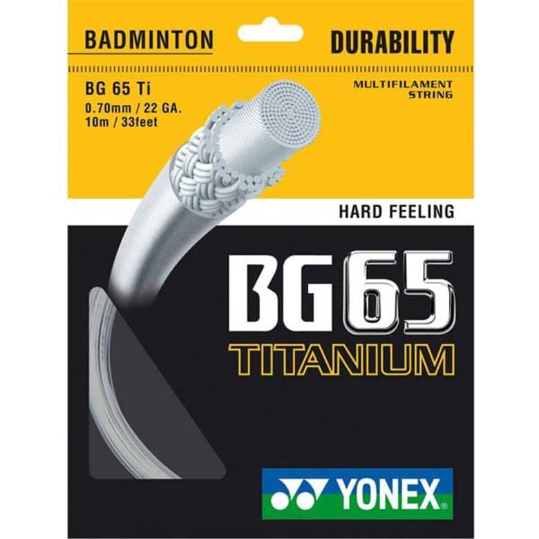 Buy Yonex BG65 Ti Badminton String Online in India