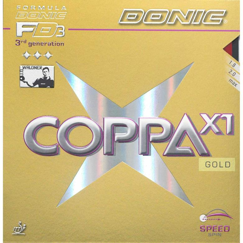Buy Donic Coppa X1 Gold Table Tennis Rubber Online India