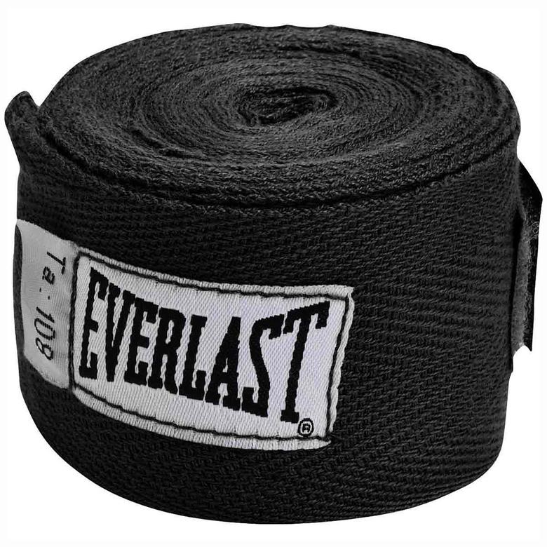 Everlast Boxing Hand Wraps (120 Black)
