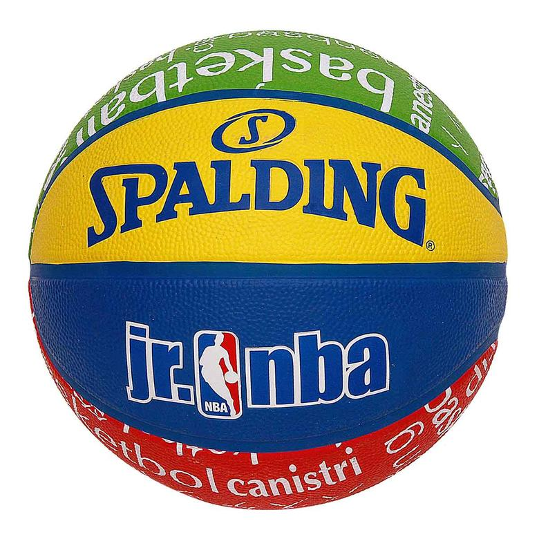 Spalding NBA Junior Basketball (Multi Colour, Size