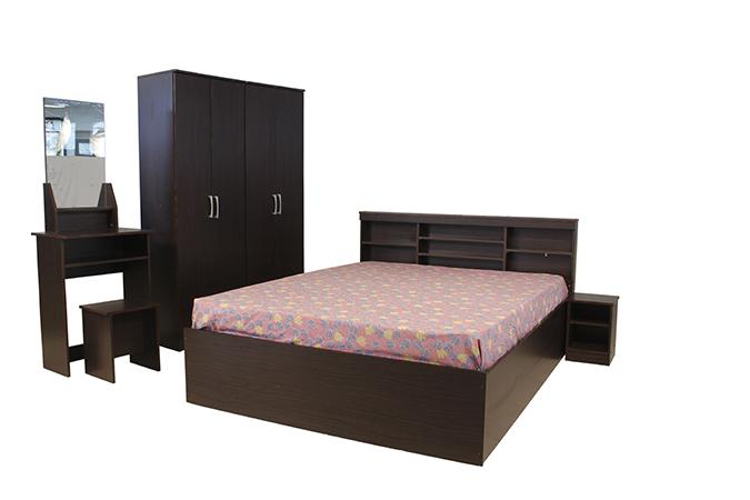 Buy BANTIA EMERLAND BEDROOM SET 4D4