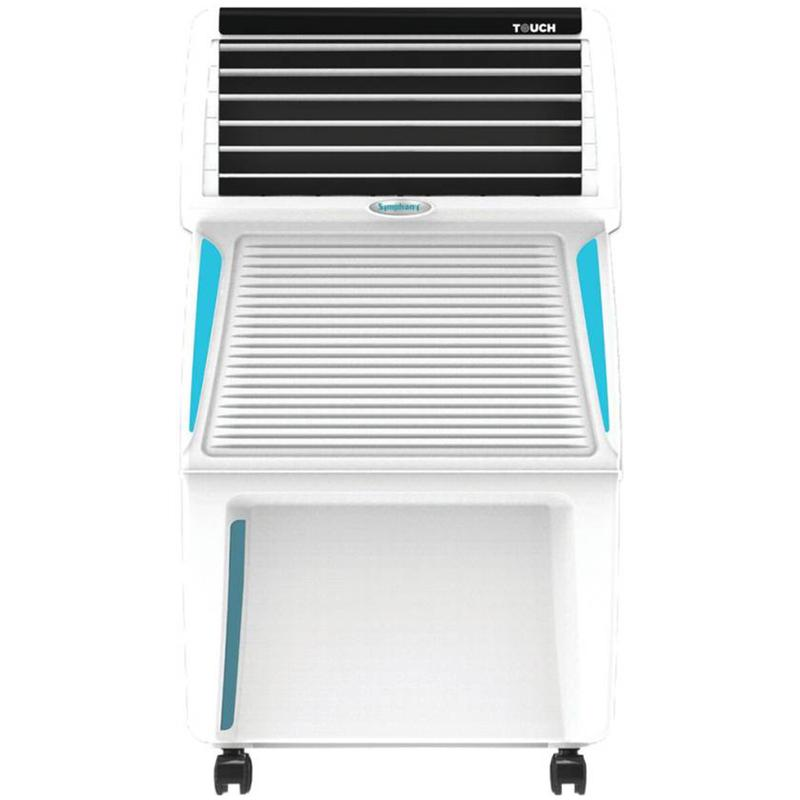 Symphony Touch 35 Ltrs Air Cooler with Remote  (White)