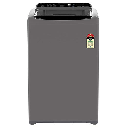 Whirlpool 7.5 Kg 5 Star Fully-Automatic Top Loading Washing Machine (WHITEMAGIC ELITE 7.5, Grey, Har