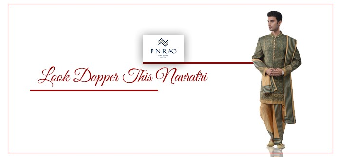 Dazzle this Navratri with P N Rao's traditional Wear
