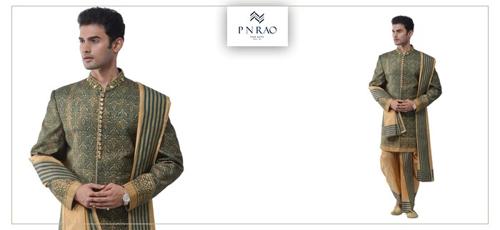 dhoti sherwani set for men
