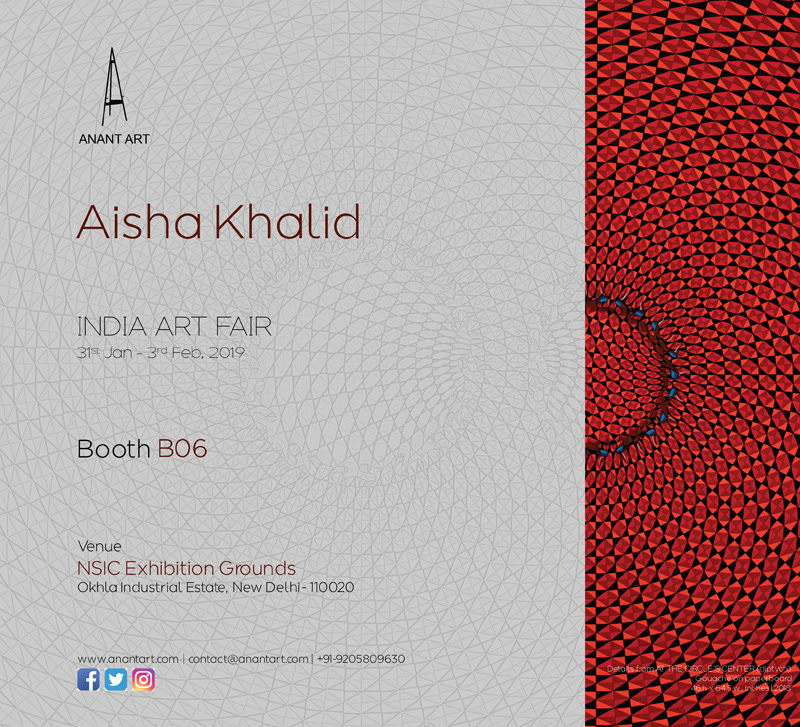 India Art Fair 2019 | Aisha Khalid