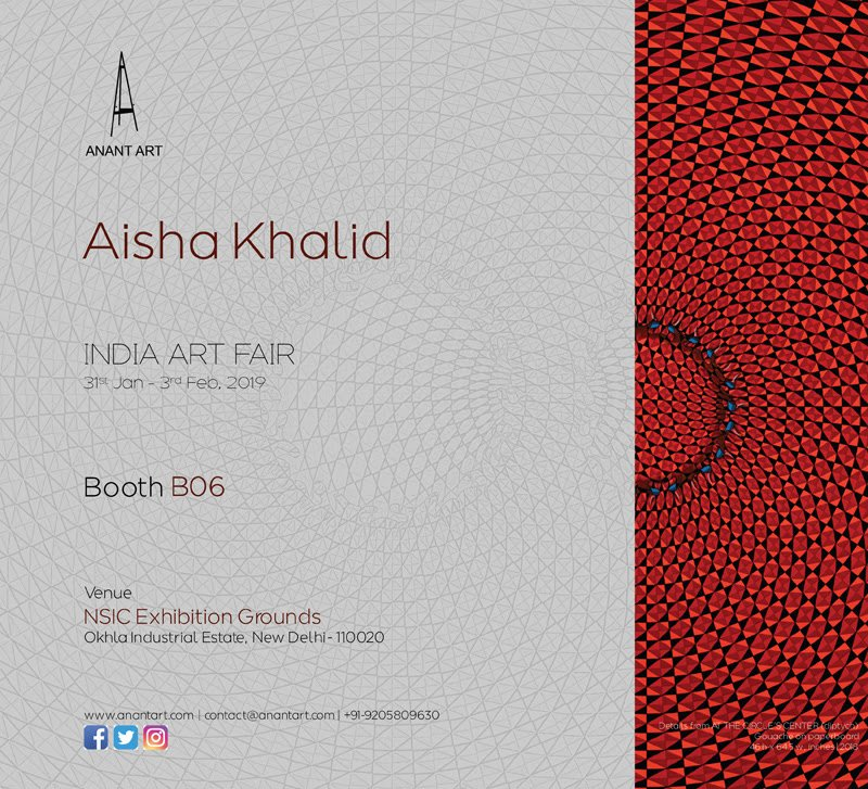 India Art Fair | Aisha Khalid