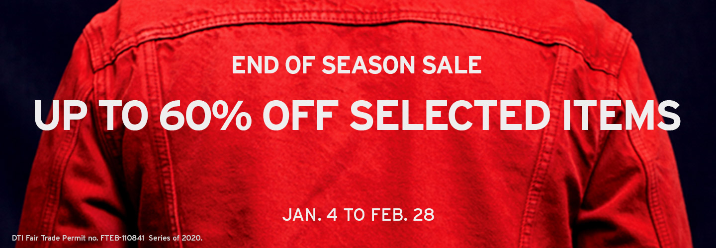 levis philippines end of season sale